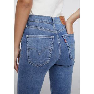 Free People x Levis Mile High Classic Wash Jeans